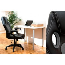 Black & Black Racing Office Chair