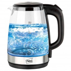 Neo 2.0 Litre Blue LED Glass Kettle