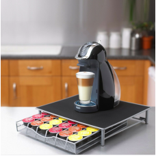 36 Pod Dolce Gusto or Nespresso Vertuo Coffee Capsule Holder Dispenser Stand Drawer Storage Rack