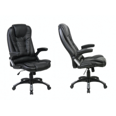 Neo Massage PU Leather Office Chair Black