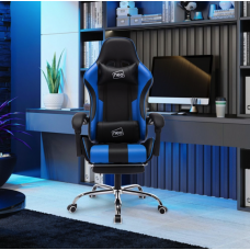 Neo Leather Gaming Racing Recliner Chair With Massage & Leg Rest