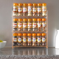 Tabletop 3 Tier Free Standing Spice Rack - 3 Colours