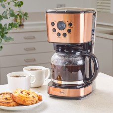 Neo Filter Coffee Maker 12 Cup Machine Automatic Setting Digital Timer